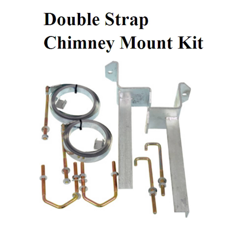 Double Strap Chimney Brackets