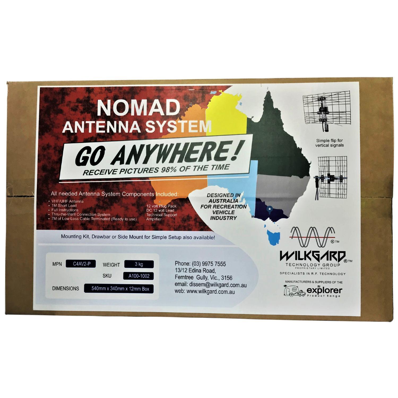 """Nomad"" Amplified VHF & UHF Digital TV Antenna"