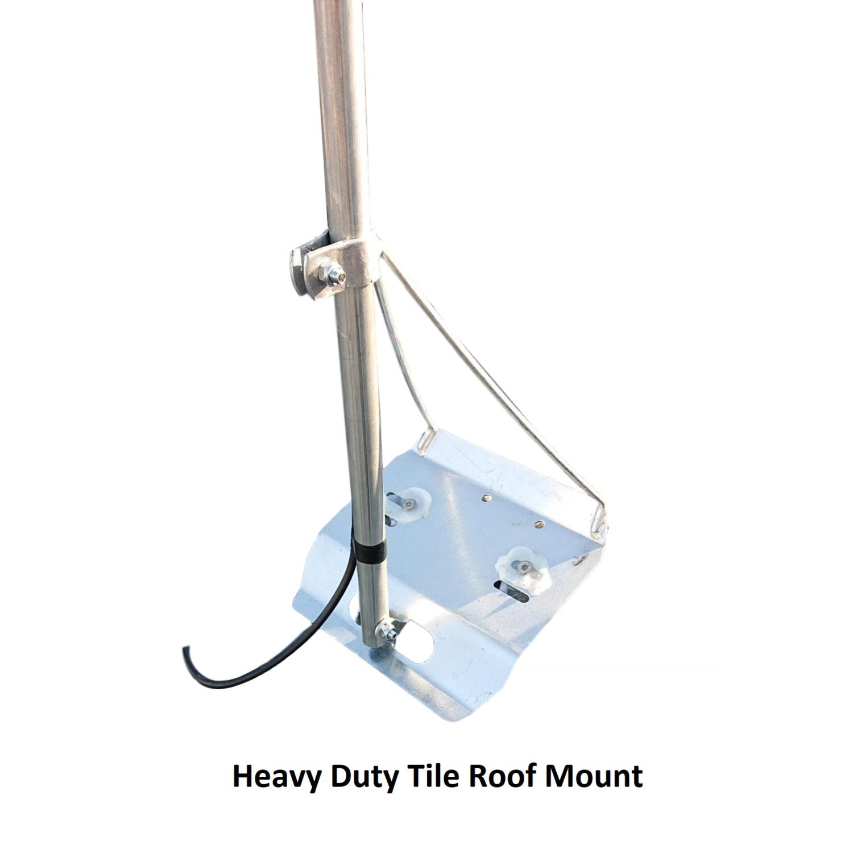 Tile Roof TV Antenna Mount