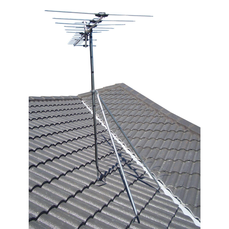 Tile or Iron Roof Tripod Antenna Mount